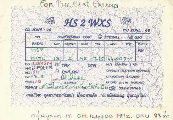HS2WXS