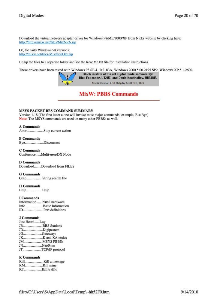 MixWManual83